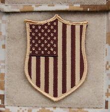AOR1 US Flag Shield Patch NSWDG DEVGRU Team ST6 Zero Dark Thirty VELCRO® Brand