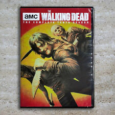 The Walking Dead Complete Season 10 (DVD, 4-Disc 2020) Fast Shipping US Seller