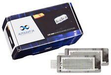 2 X Premium LED Kennzeichenbeleuchtung für 402 Renault Modus