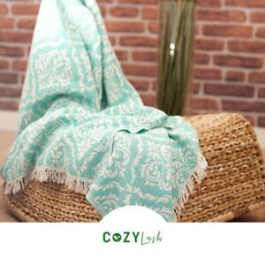 Cozy Voyager|100% Cotton Turkish Peshtemal Towel Fouta- Multi-Purpose, Quick-Dry