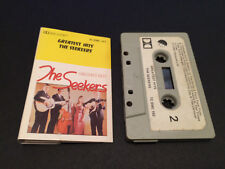 THE SEEKERS GREATEST HITS NEW ZEALAND CASSETTE TAPE