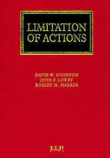 Limitation of Actions (Lloyd's Commercial Law Library) by Oughton, David, Lowry