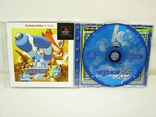 ROCKMAN X5 Megaman The BEST PS1 Playstation Japan Game p1