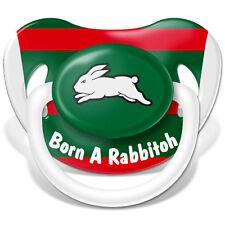 South Sydney Rabbitohs Baby Dummy, 6 mth+, *BNIP*