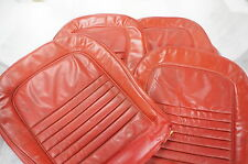 1967 Corvette Bright RED seat Covers 67 AL KNOCH USED NICE