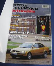 Revue technique automobile RTA 625 Volkswagen Passat diesel 4 cyl. depuis 10/96