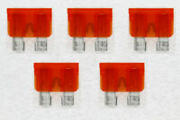 10pcs 5A Middle Fuse Holder with Cable for Car Boat Truck ATC//ATO Blade LS4G
