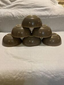 DENBY Truffle 6'' Cereal Bowl-Gently Used-Set Of 6