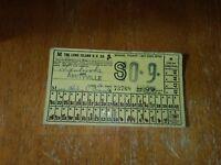 Vintage Long Island Railroad School Ticket 1956