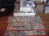 HUGE LOT 2,000+ BASEBALL STARS, HOFer's , Inserts, Listed RC CARDS 1970's-2000's