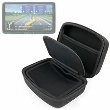 EVA Case For Navigon 70 & 92 Premium Live Sat Nav In Hard Black w/ Netted Pocket