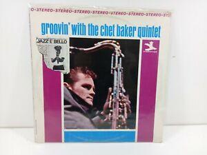 """GROOVIN' WITH THE CHET BAKER QUINTET  33 GIRI 12"""" VINILE LP"""