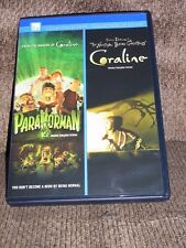 PARANORMAN/CORALINE (DVD, 2013,Canadian) - WITH BONUS FEATURES! - MINT