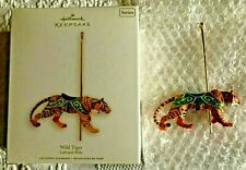 "HALLMARK 2008 ""WILD TIGER"" ""CAROUSEL RIDE SERIES"" KEEPSAKE ORNAMENT"" MIB"