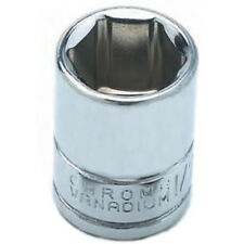 """Performance Tool w36210 CROMO Socket, 1/4"""" Drive ,10mm, 6 Point, Shallow"""