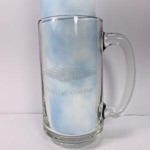 QUIET BIRDMEN Etched Drinking  de Beer Stein Mug  Freemason