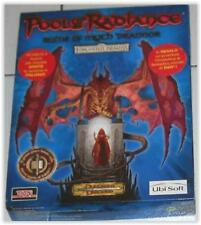 AD&D - POOL OF RADIANCE Ruins of Myth Drannor pc videogame cd rom boxed