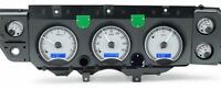 1970 -1972 Chevelle SS Dakota Digital Gauges VHX Silver Blue  VHX-70C-CVL-S-B