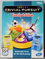 Board Game Trivial Pursuit Family Edition new sealed kids adult trivia Hasbro