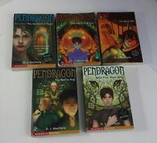 Lot of 5 Pendragon Paperback Books By DJ MacHale 1-5 Traveler Aladdin Fantasy