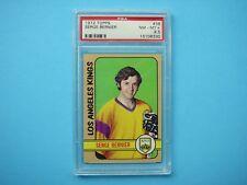1972/73 TOPPS NHL HOCKEY CARD #36 SERGE BERNIER PSA 8.5 NM/MT+ SHARP!! 72/73