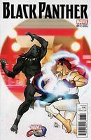 BLACK PANTHER #17 Ferry Marvel Comics Vs Capcom Variant Coates COVER C