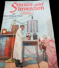 ANTIQUE ! RARE!! SCIENCE AND INVENTION, SEPTEMBER, 1920 ( B # 28)