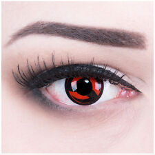 "Coloured Contact Lenses Anime ""Sharingan Kakashi"" Naruto + Free Case Halloween"
