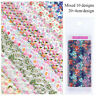 Decor Stickers Art Nail Foil Transfer Manicure Holographic Flower Decals