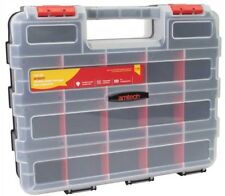 34 Section Compartment Organiser Double Sided Storage Box Screws Nails - Amtech