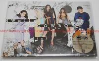 New f(x) 4 Walls COWBOY First Limited Edition CD DVD Trading Card Japan F/S