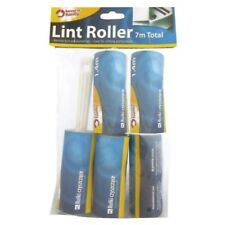 10 Rolls Lint Remover Roller Sticky Brush Pet Dog Hair Cloths Dust Fluff Fabric