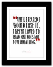 ❤ HARPER LEE - To Kill a Mockingbird ❤ typography book quote poster print #75