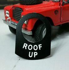 Land Rover Serie 1 2 2A 2 Schalter Ösen Label Dach Up Warn Dormobile Wohnwagen