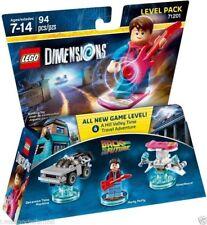 LEGO DIMENSIONS 71201 Level Pack Back To The Future RITORNO  FUTURO MARTY MCFLY