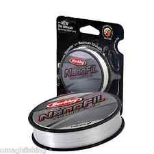 Berkley Enf27012 cm Nanofil fil de Pêche Transparent 0 10 mm 270 M