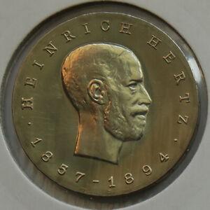 German Democratic Republic • 1969 • 5 Mark • Heinrich Hertz • KM 23