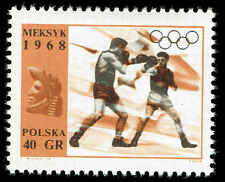 Scott # 1595 - 1968 - ' Boxing ', 19th Olumpic Games Mexico City