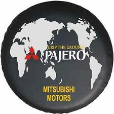 "Mitsubishi Pajero world map  SPARE WHEEL TIRE COVER DIY UNIVERSAL Size 30-31"""
