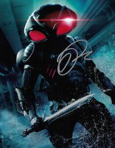 Yahya Abdul-Mateen II Aquaman signed 10x8 photo AFTAL & UACC Signing Details