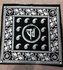 THROWDOWN TD Logo BANDANA HeadWrap Scarf Hankerchief NEW OFFICIAL MERCHANDISE