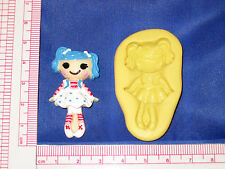 LalaLoopsy Silicone Mold Resin Clay Candy Food Bookscraping A484