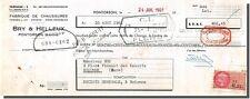 Traite - Bry & HELLEUX Fabrique de chaussures à Pontorson 1961