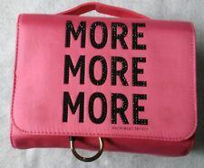 Victoria's Secret Train Case MORE Pink Detachable Makeup Bag NWT