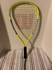 Nice Wilson Express Crushing Power Titanium Yellow Racquetball Racquet! Great!