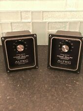 Altec 604-8G Crossover Pair in Wonderful Cosmetic and Functioning Condition