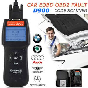 New Car Fault Code Reader D900 OBD2 EOBD CAN Engine Diagnostic Scanner Tool