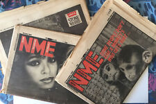 NME New Musical Express Mixed Lot A 1983 David Bowie Boy George Lester Bangs