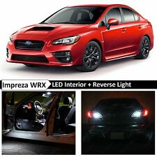 2015-2017 Subaru WRX STI White Interior + Reverse LED Light Package Kit