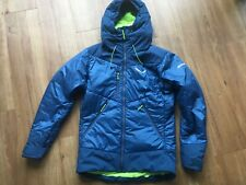 SALEWA Winterjacke ORTLES 2 Tirolwool Celliant - Gr.46 / S - blau - NEUWERTIG!